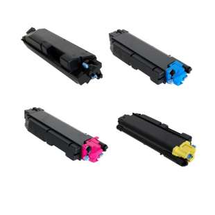 Compatible Kyocera Mita TK-5152 toner cartridges - 4-pack