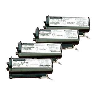 Compatible Lanier 117-0163 toner cartridge - black cartridge - 4-pack