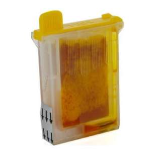 Compatible ink cartridge guaranteed to replace Brother LC04Y - yellow