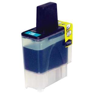 Compatible ink cartridge guaranteed to replace Brother LC41C - cyan
