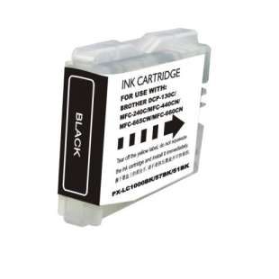 Compatible ink cartridge guaranteed to replace Brother LC51Bk - black cartridge