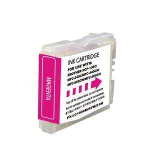 Compatible ink cartridge guaranteed to replace Brother LC51M - magenta