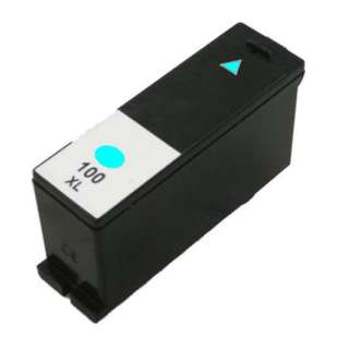 Compatible Lexmark 14N1093 (#100XL ink) high quality inkjet cartridge - high capacity cyan