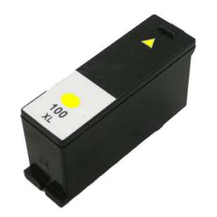 Compatible Lexmark 14N1095 (#100XL ink) high quality inkjet cartridge - high capacity yellow