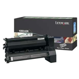 Original Lexmark 10B042K toner cartridge - black cartridge