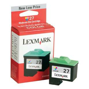 Original Lexmark 10N0227 (#27 ink) high quality inkjet cartridge - color cartridge