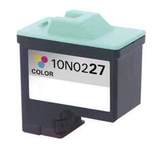Remanufactured Lexmark 10N0227 (#27 ink) high quality inkjet cartridge - color cartridge