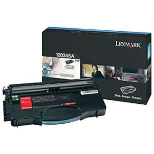 Original Lexmark 12035SA toner cartridge - black cartridge