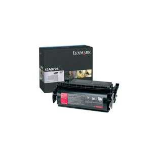 Original Lexmark 12A0725 toner cartridge - black cartridge