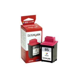 Original Lexmark 12A1985 (#85 ink) high quality inkjet cartridge - high capacity color