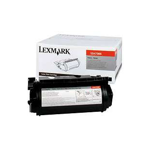 Original Lexmark 12A7365 toner cartridge - high capacity black