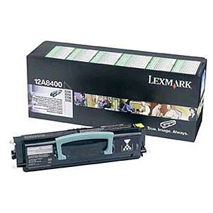 Original Lexmark 12A8400 toner cartridge - black cartridge