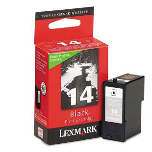 Original Lexmark 18C2090 (#14 ink) high quality inkjet cartridge - black cartridge