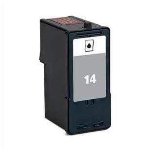 Remanufactured Lexmark 18C2090 (#14 ink) high quality inkjet cartridge - black cartridge