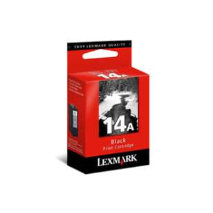 Original Lexmark 18C2080 (#14A ink) high quality inkjet cartridge - black cartridge