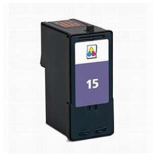 Remanufactured Lexmark 18C2110 (#15 ink) high quality inkjet cartridge - color cartridge