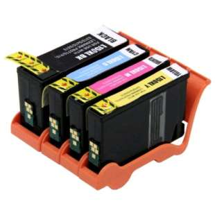 Compatible high quality inkjet cartridges Multipack for Lexmark #150XL - 4 pack