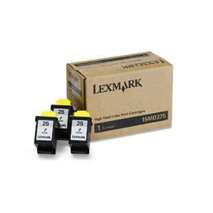 Original Lexmark 15M0375 (#25) Multipack - 3 pack