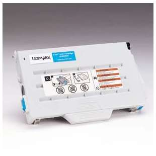 Original Lexmark 15W0900 toner cartridge - cyan