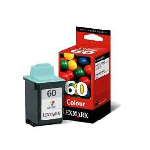 Original Lexmark 17G0060 (#60 ink) high quality inkjet cartridge - color cartridge