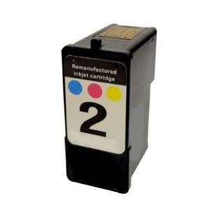 Remanufactured Lexmark 18C0190 (#2 ink) high quality inkjet cartridge - photo