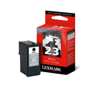 Original Lexmark 18C1523 (#23 ink) high quality inkjet cartridge - black cartridge