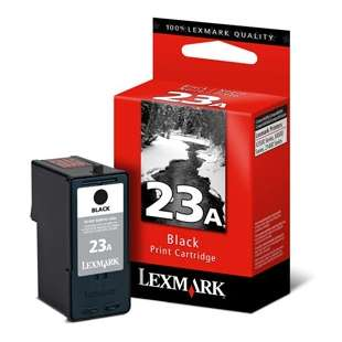 Original Lexmark 18C1623 (#23A ink) high quality inkjet cartridge - black cartridge