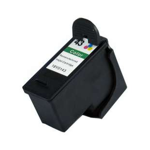 Remanufactured Lexmark 18Y0143 (#43XL ink) high quality inkjet cartridge - high capacity color
