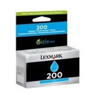 Original Lexmark 14L0647 (#200 ink) high quality inkjet cartridge - cyan