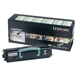 Original Lexmark 23800SW toner cartridge - black cartridge
