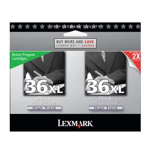 Original Lexmark 18C2230 (#36XL) Multipack - 2 pack