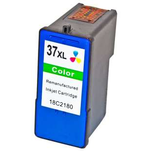 Remanufactured Lexmark 18C2180 (#37XL ink) high quality inkjet cartridge - high capacity color