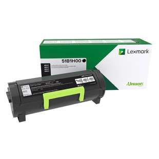 Original Lexmark 51B1H00 toner cartridge - high capacity black