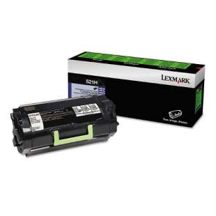 Original Lexmark 52D1H00 (521H) toner cartridge - high capacity black