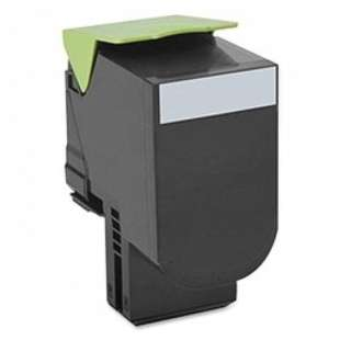 Remanufactured Lexmark 70C1HK0 toner cartridge - high capacity black