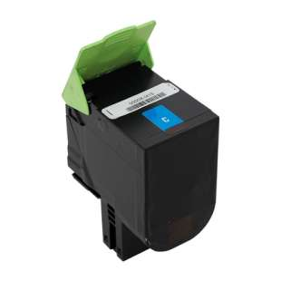 Remanufactured Lexmark 70C1XC0 toner cartridge - extra high capacity cyan