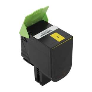 Remanufactured Lexmark 70C1XY0 toner cartridge - extra high capacity yellow