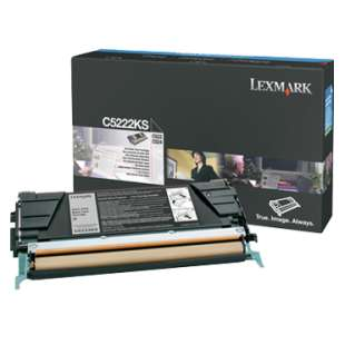 Original Lexmark C5222KS toner cartridge - black cartridge