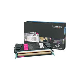 Original Lexmark C5222MS toner cartridge - magenta