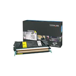 Original Lexmark C5222YS toner cartridge - yellow