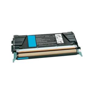 Remanufactured Lexmark C734A2CG toner cartridge - cyan