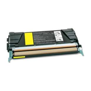 Remanufactured Lexmark C734A2YG toner cartridge - yellow