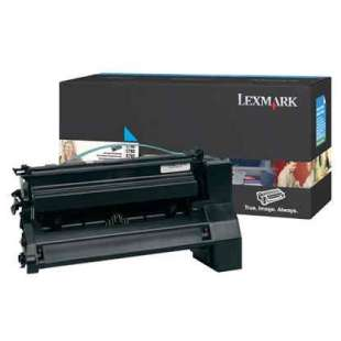 Original Lexmark C780A2CG toner cartridge - cyan