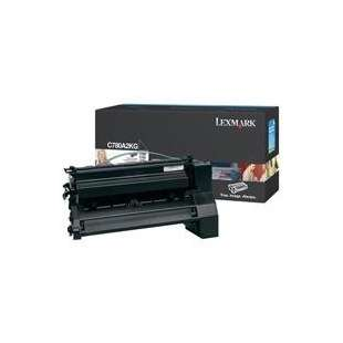 Original Lexmark C780A2KG toner cartridge - black cartridge