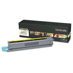 Original Lexmark C925H2YG toner cartridge - high capacity black