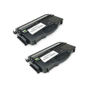 Remanufactured Lexmark 12035SA toner cartridges - 2-pack