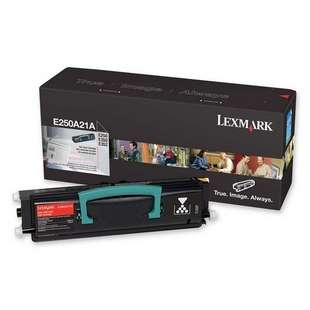 Original Lexmark E250A21A toner cartridge - black cartridge