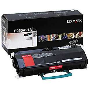 Original Lexmark E260A21A toner cartridge - black cartridge