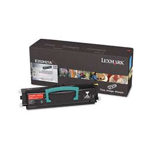 Original Lexmark E352H21A toner cartridge - high capacity black