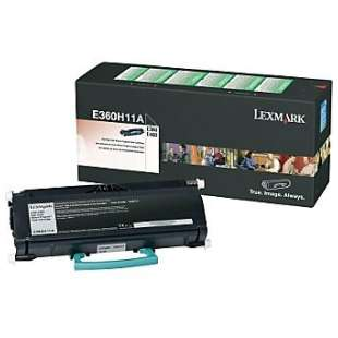 Original Lexmark E360H11A toner cartridge - high capacity black